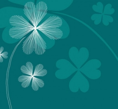 Free vector Vector background  clover background vector