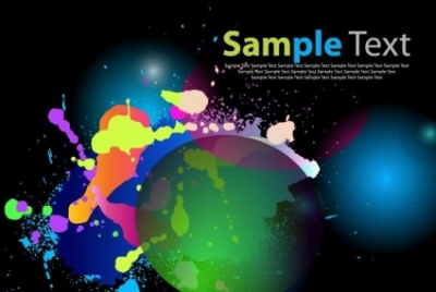 Free vector Vector abstract  Color Abstract Background Art