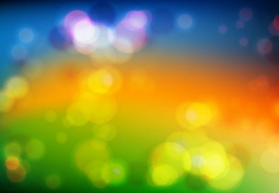 Free vector Vector background  Colored Bokeh Vector Background