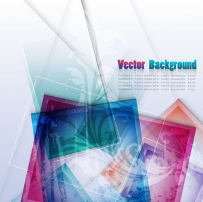 Free vector Vector abstract  colorful abstract background 02 vector