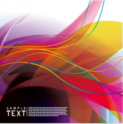 Free vector Vector background  Colorful background vector flow lines
