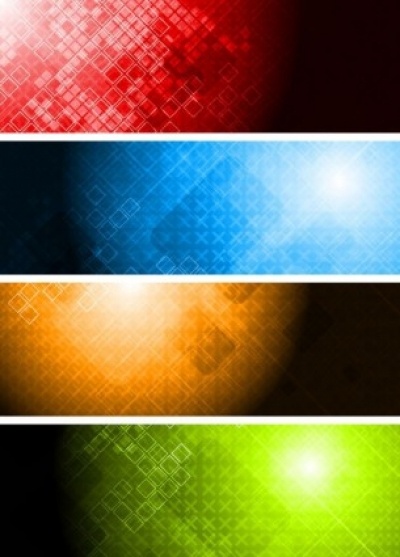 Free vector Vector banner  colorful banner banner01 vector