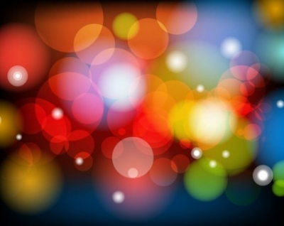 Free vector Vector background  Colorful Bokeh Background