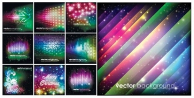 Free vector Vector background  colorful christmas vector background