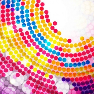 Free vector Vector background  Colorful Circle Background