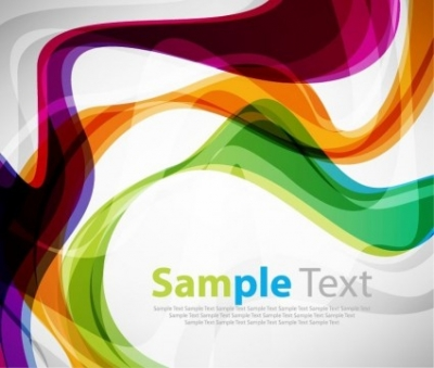Free vector Vector background  Colorful Curve Vector Background