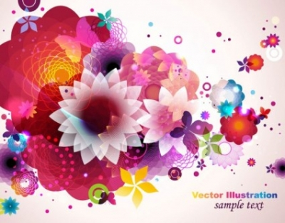 Free vector Vector pattern  colorful fashion pattern 03 vector