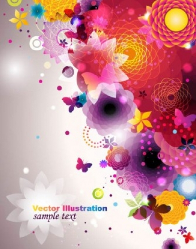 Free vector Vector pattern  colorful fashion pattern 04 vector