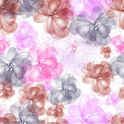 Free vector Vector flower  colorful flowers background 04 vector
