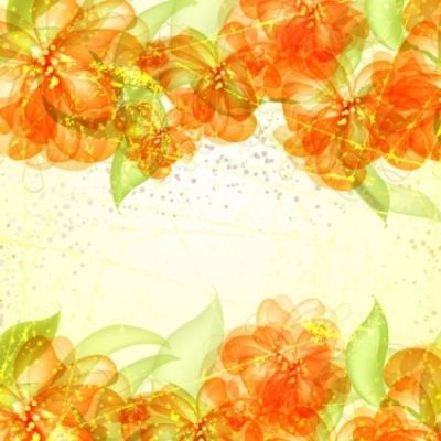 Free vector Vector flower  colorful flowers background 05 vector
