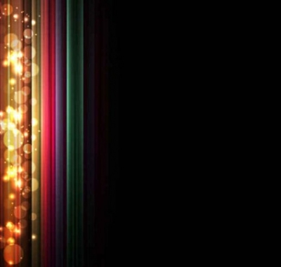 Free vector Vector background  Colorful light effect background