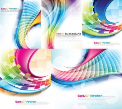 Free vector Vector background  Colorful Light Lines Vector Background