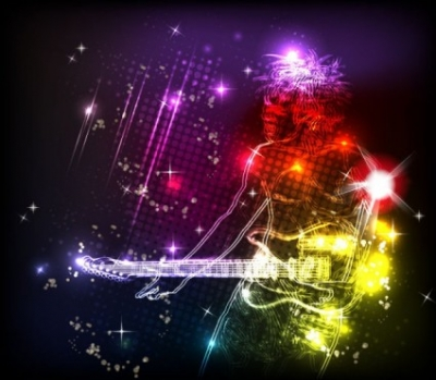 Free vector Vector background  colorful lights background 01 vector