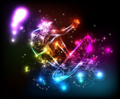 Free vector Vector background  colorful lights background 05 vector