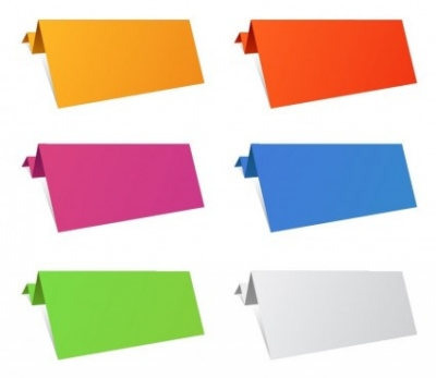 Free vector Vector misc  Colorful Origami Paper Sheets