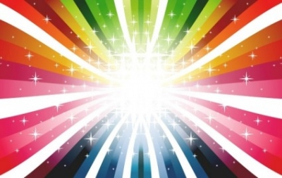Free vector Vector misc  Colorful Rays Vector