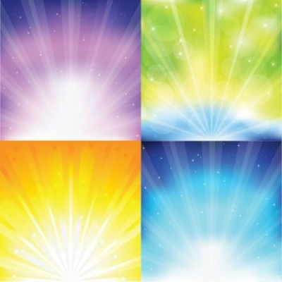Free vector Vector misc  Colorful Sunburst Vector Graphics