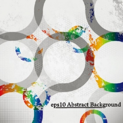 Free vector Vector background  colorful trend background 03 vector