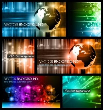 Free vector Vector background  colorful trend of dynamic background 01 vector