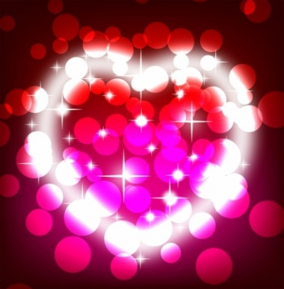 Free vector Vector background  Colorful valentines day background