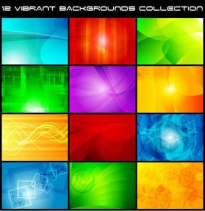 Free vector Vector background  colorful vector background collection