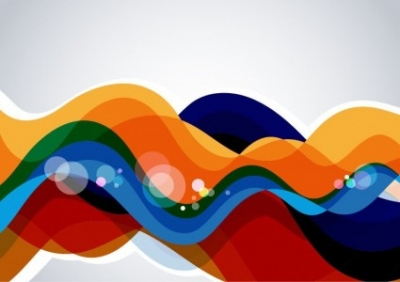 Free vector Vector abstract  Colorful Wave Abstract Background