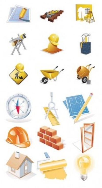 Free vector Vector icon  construction site theme icon vector