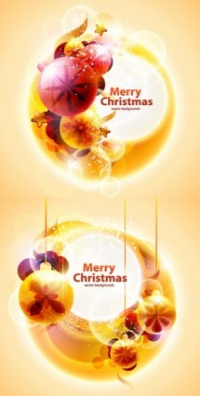 Free vector Vector background  cool christmas symphony of light vector background 2