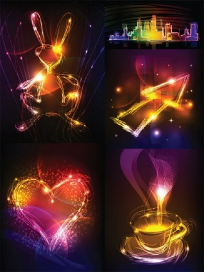 Free vector Vector misc  cool vector graphics symphony of light