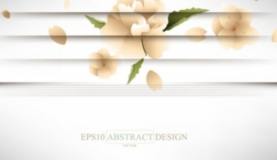 Free vector Vector background  creative shutters style floral background vector