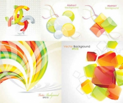 Free vector Vector background  Crystal Abstract vector Background