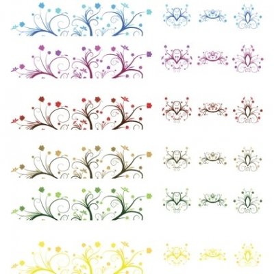 Free vector Vector misc  Curly Leaf Ornamen  Free Vector Graphics