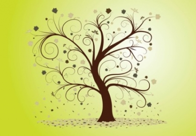 Free vector Vector misc  Curly Tree