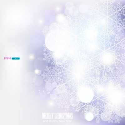 Free vector Vector background  dazzling snowflake background 04 vector