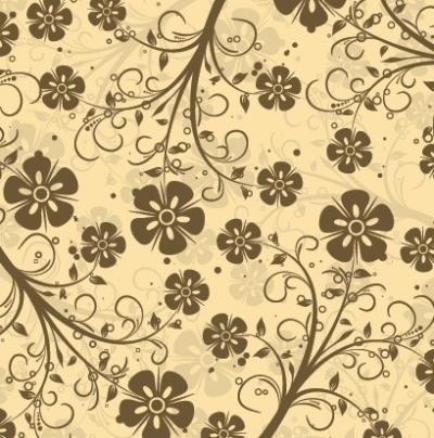 Free vector Vector floral  Decorative Floral Pattern Vector
