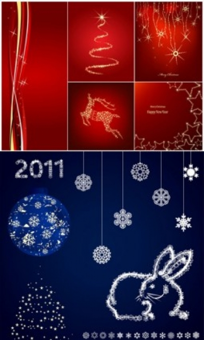 Free vector Vector background  delicate snowflake christmas background vector