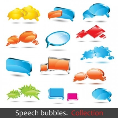 Free vector Vector misc  dialogue bubble logo vector