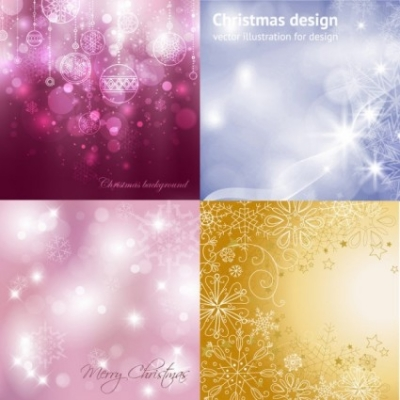Free vector Vector background  dream christmas background