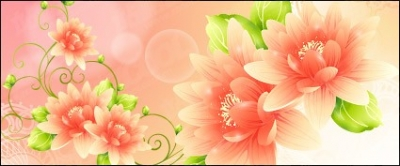 Free vector Vector flower  Dream with flowers vector background