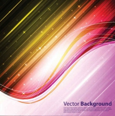 Free vector Vector background  Dynamic and brilliant color background