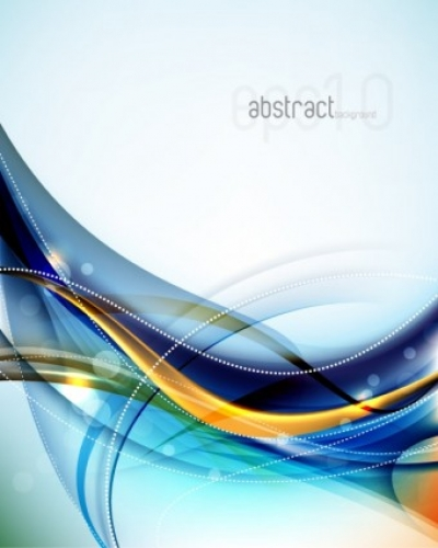 Free vector Vector background  dynamic flow line gorgeous background 04 vector