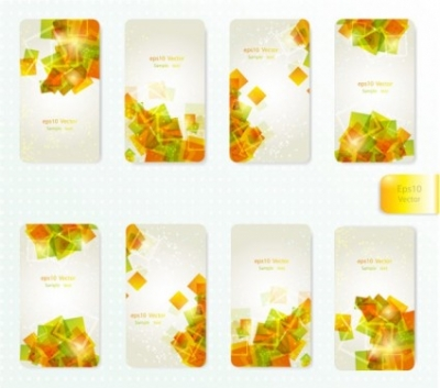 Free vector Vector background  dynamic gorgeous card background 01 vector