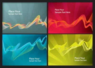Free vector Vector background  dynamic lines background vector