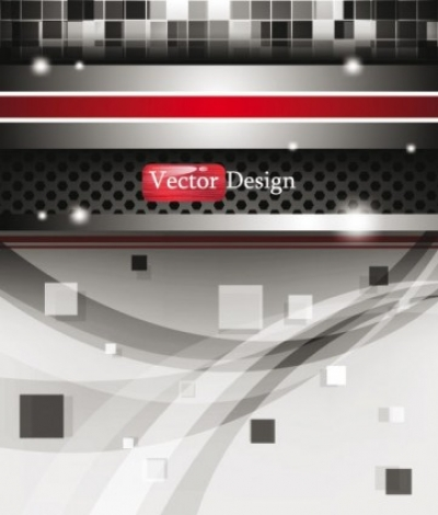 Free vector Vector background  dynamic technology background 01 vector