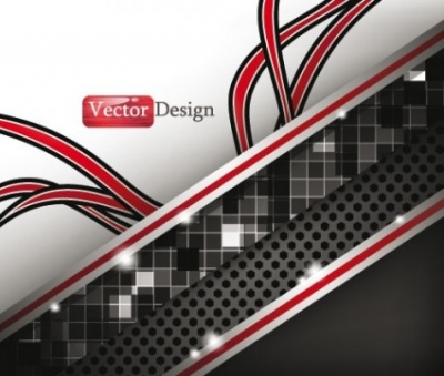 Free vector Vector background  dynamic technology background 03 vector