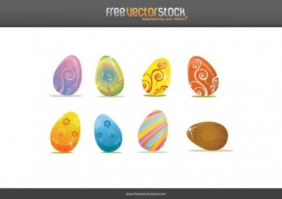 Free vector Vector misc  Easter Eggs