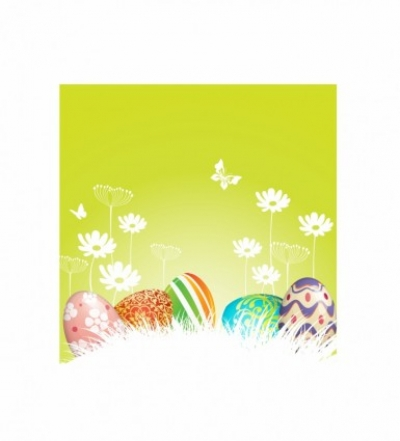 Free vector Vector misc  Easter Eggs background