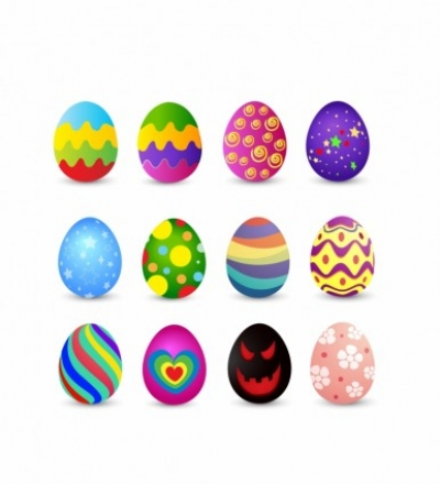 Free vector Vector misc  Easter Eggs Vector