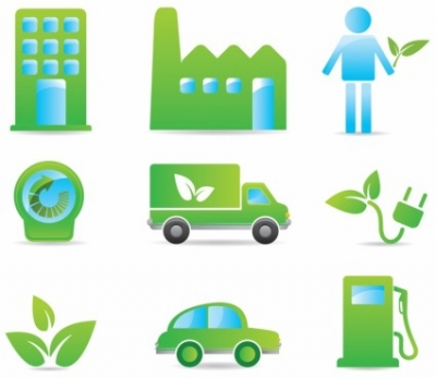 Free vector Vector icon  Eco Friendly Icons