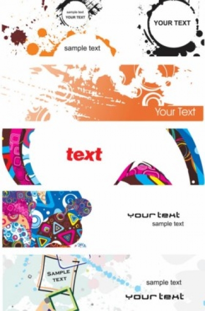 Free vector Vector banner  elements of the trend banner vector